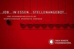 Stellenangebot Job in Essen. Steuerfachangestellte*n / Steuerfachwirt*in / Bilanzbuchhalter*in (m/w/d) – Steuerberatung Schulte.