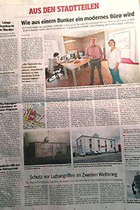 WAZ Essen Beitrag über Steuerberatung Schulte, Steuerberater in Essen