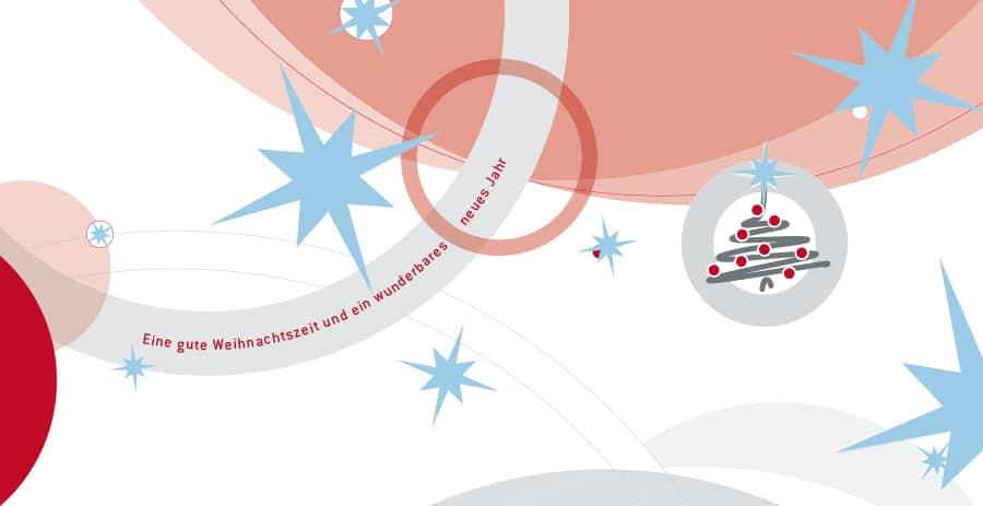 Grußkarte / Weihnachtskarte by Steuerberatung Schulte, Steuerberater in Essen